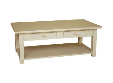 Coffee Tables End Tables - Rectangle coffee table with drawers