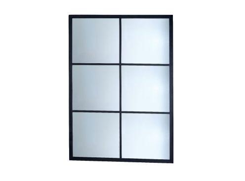 miroir signature industry rectangle 150 cm. Black Bedroom Furniture Sets. Home Design Ideas