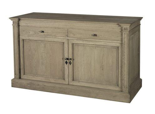 buffet signature haussman 2 portes. Black Bedroom Furniture Sets. Home Design Ideas