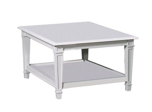 table basse signature double plateaux pieds droits dauphine rectangulaire 110 cm. Black Bedroom Furniture Sets. Home Design Ideas