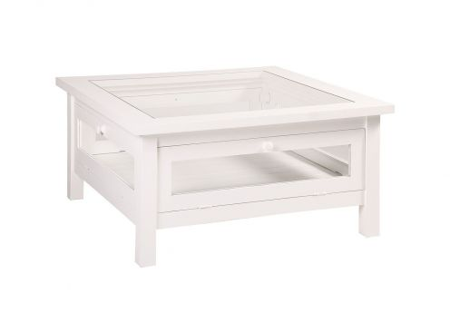 Table Basse Vitrine Carree Jiceka D189