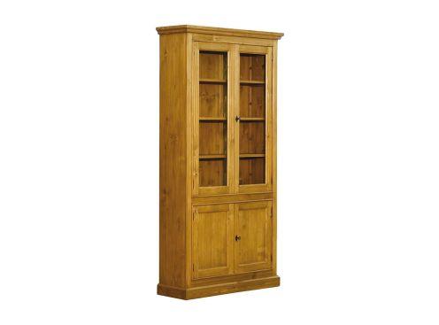 biblioth que etroite tout tag res 4 portes composables jiceka d211. Black Bedroom Furniture Sets. Home Design Ideas