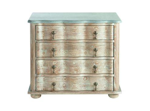 Commode signature guillaume 4 tiroirs plateau pierre bleue - Signature meubles ...