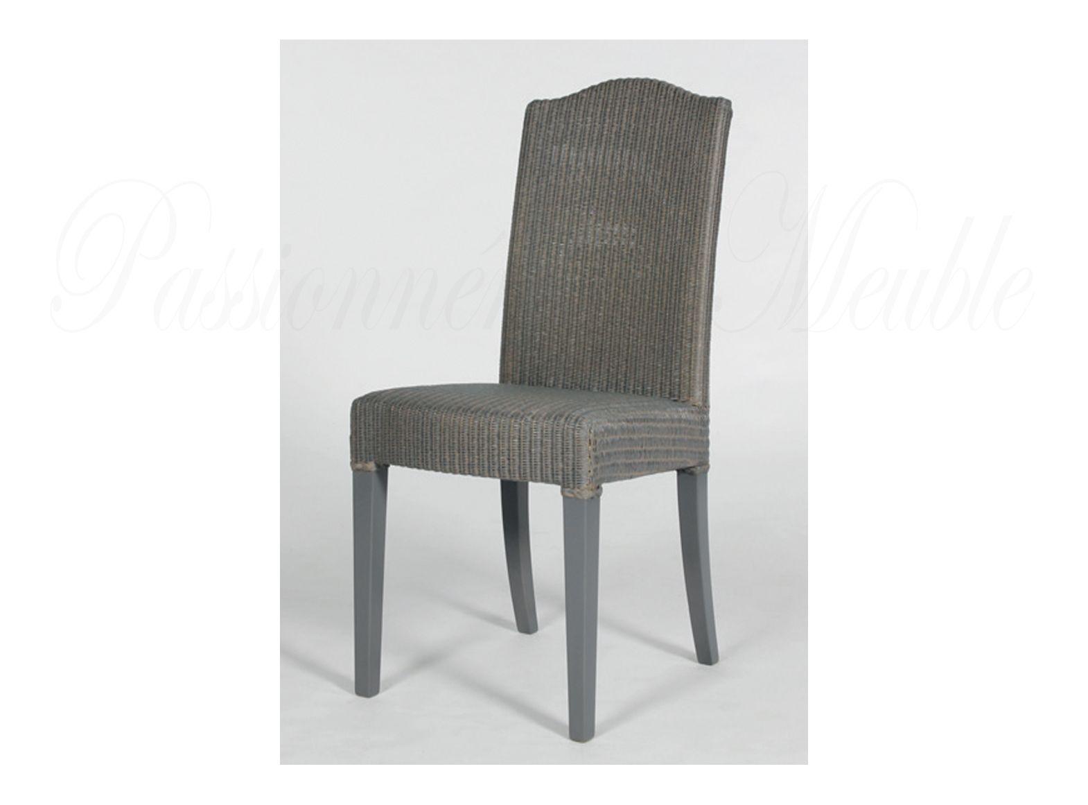chaise de repas lloyd loom napoleon. Black Bedroom Furniture Sets. Home Design Ideas
