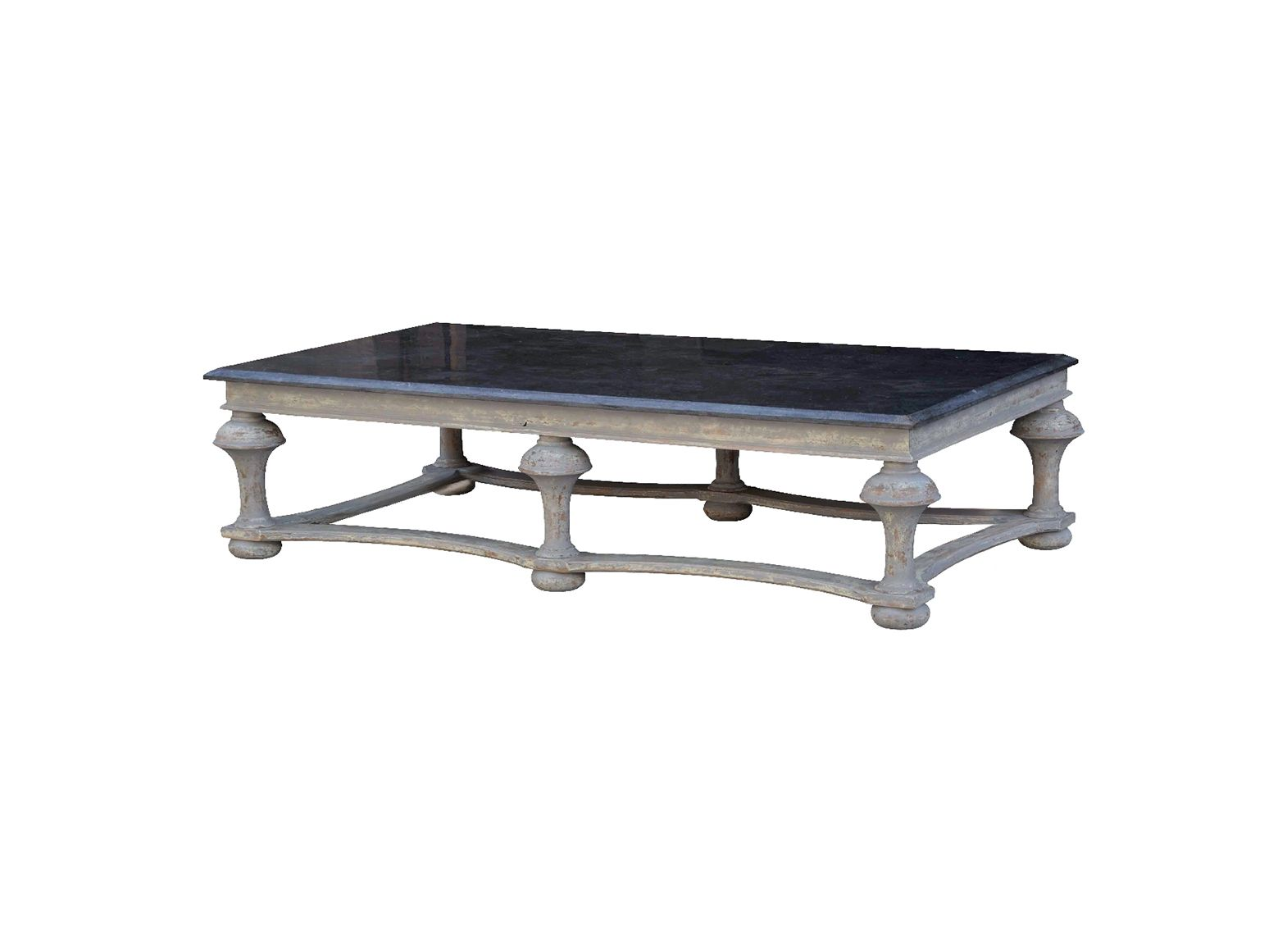 table basse signature 6 pieds plateau pierre bleue givenchy. Black Bedroom Furniture Sets. Home Design Ideas