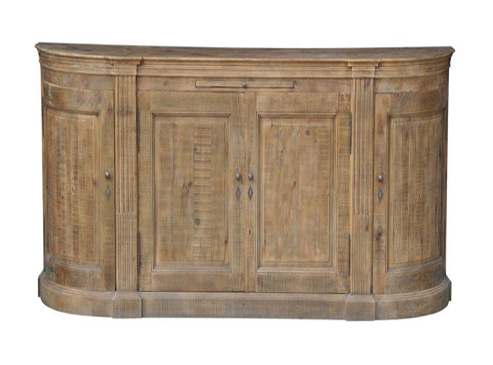 buffet signature galb 3 portes vieux bois. Black Bedroom Furniture Sets. Home Design Ideas