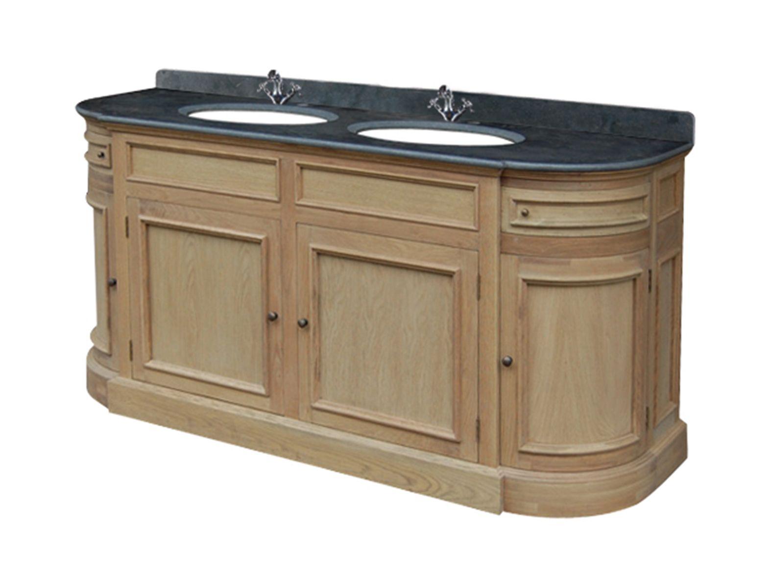 Beautiful meuble double vasque industriel gallery for Meuble salle de bain smith