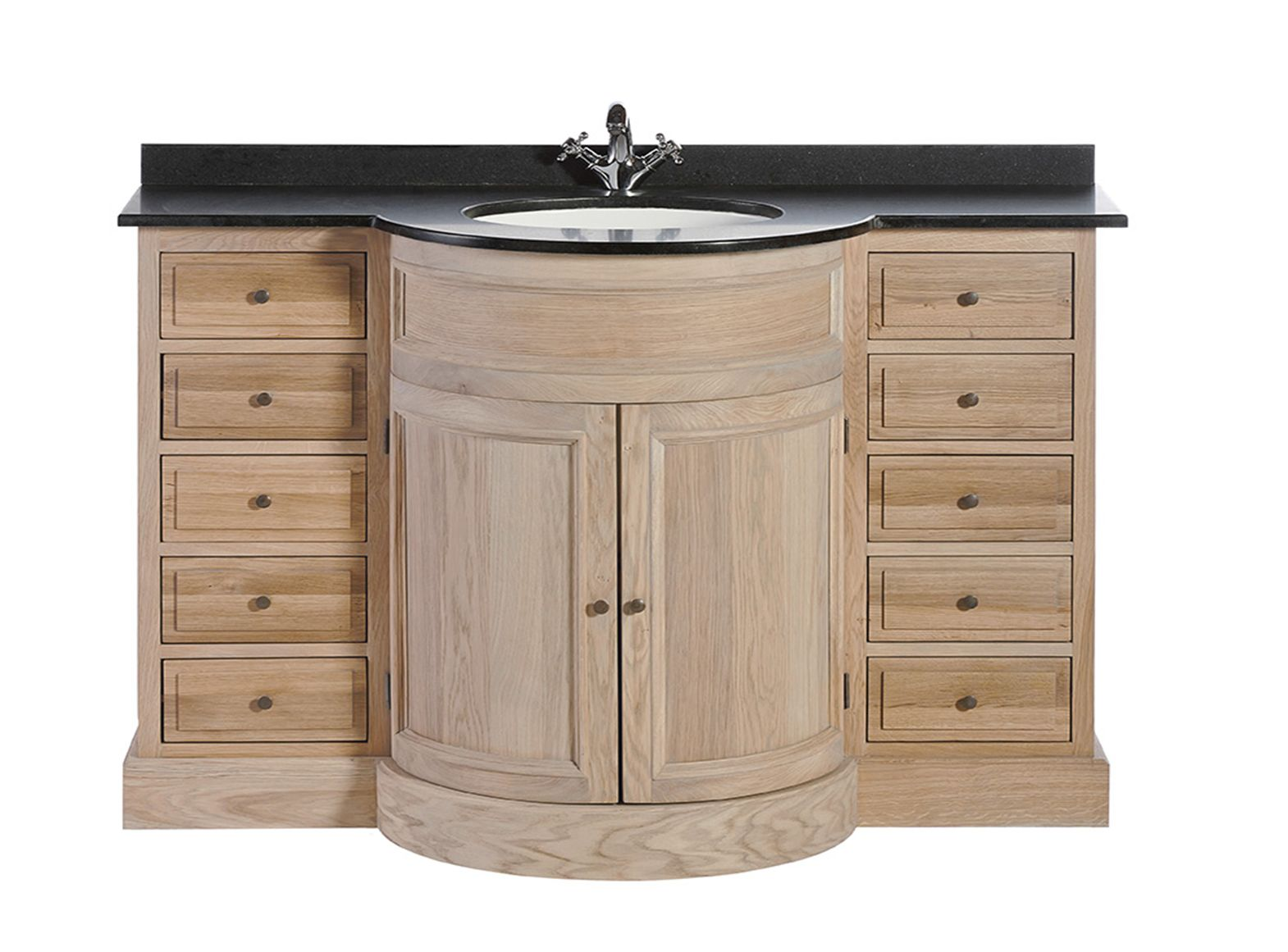 Meuble salle de bain signature haussman rond - Signature meubles ...