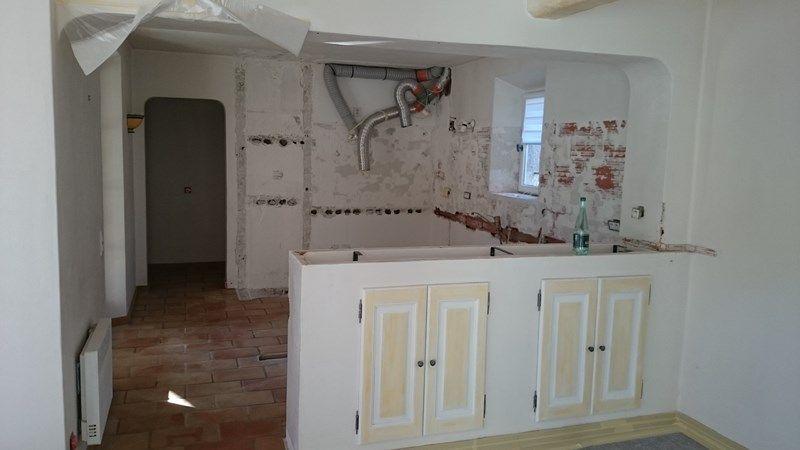 cr ation d 39 une cuisine chaleureuse cr ation et suivi de chantier coordination de travaux. Black Bedroom Furniture Sets. Home Design Ideas