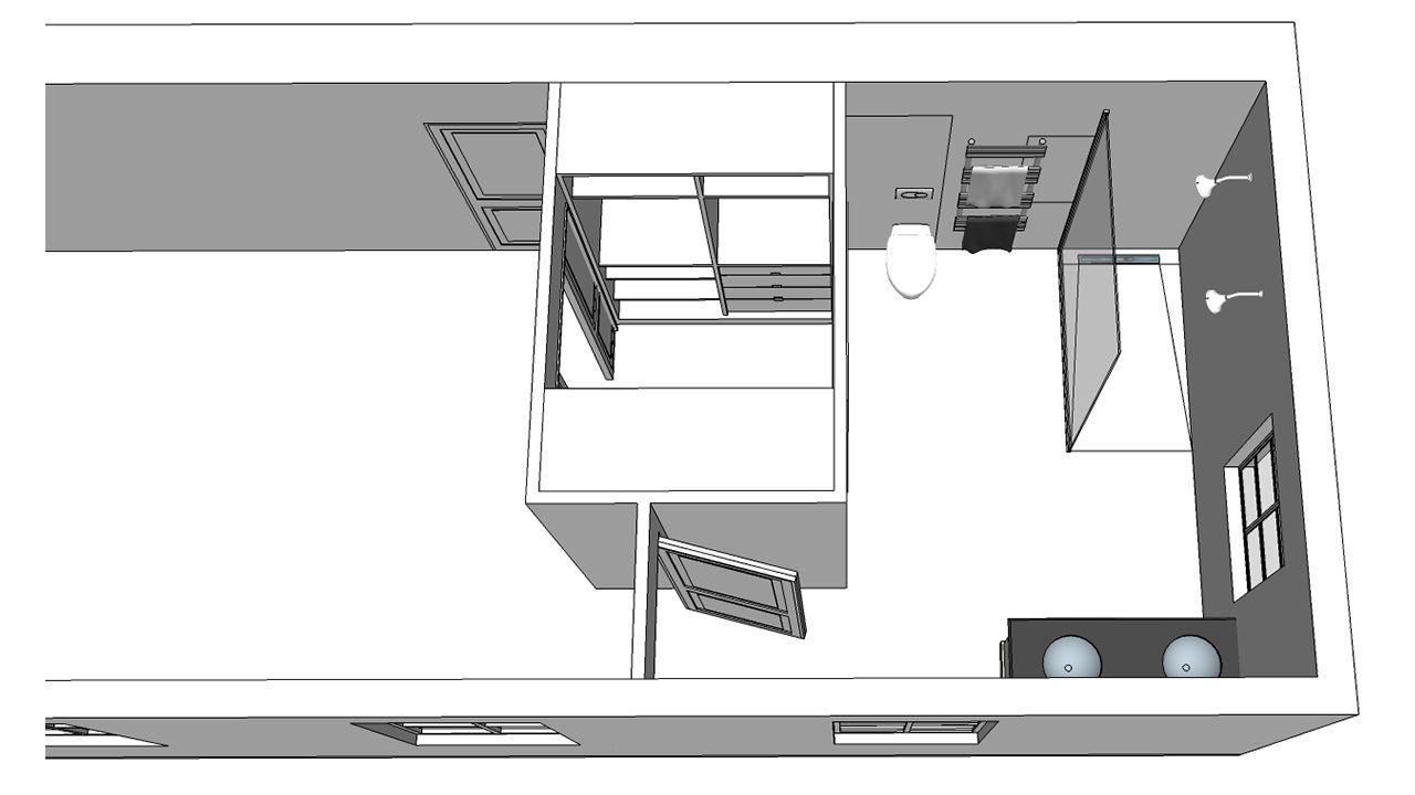 transformation d 39 une suite parentale dressing salle de bain cr ation et coordination de travaux. Black Bedroom Furniture Sets. Home Design Ideas